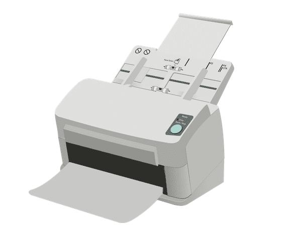 Illustration: a scanner