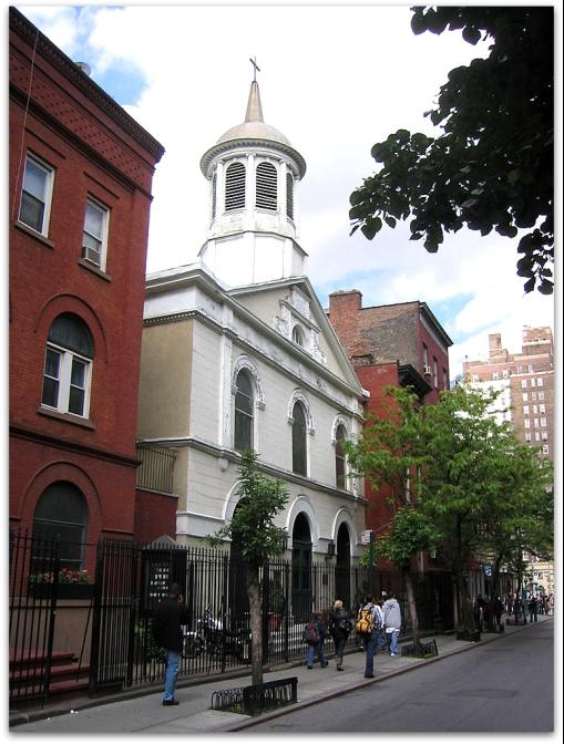 Photo: St. John's Lutheran Church, New York, New York