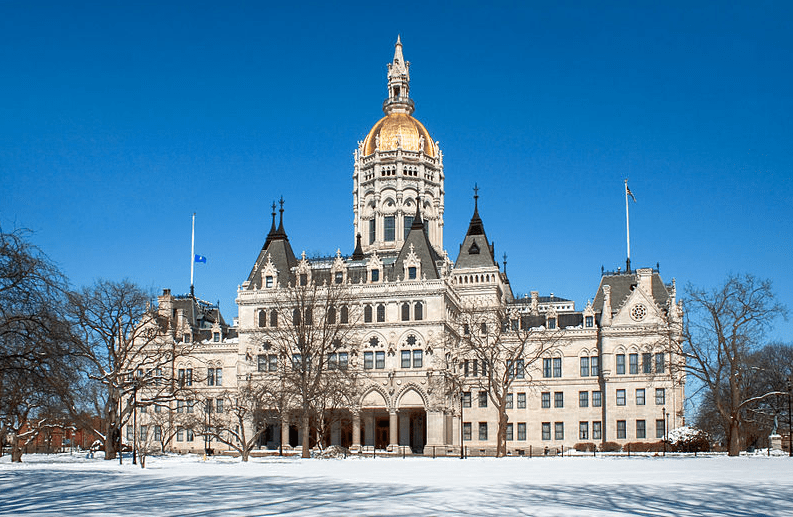 Photo: Connecticut state capitol, Hartford, Connecticut