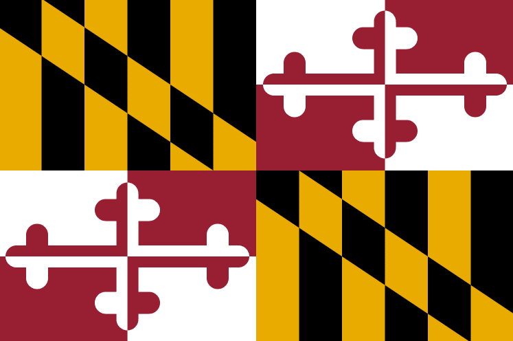Illustration: Maryland state flag