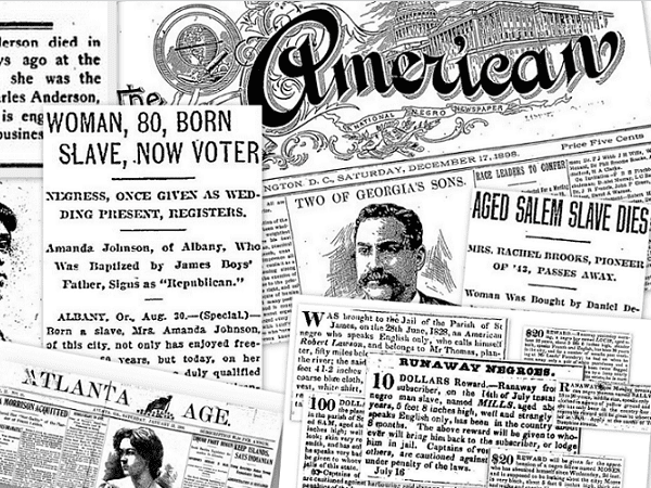 Photo: African American newspapers