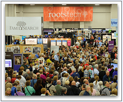 Photo: RootsTech genealogy conference