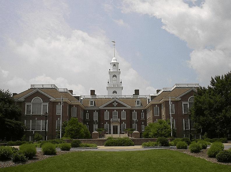 Photo: Delaware state capitol, Dover, Delaware