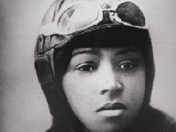 Photo: Bessie Coleman. Source: National Air and Space Museum; Wikimedia Commons.