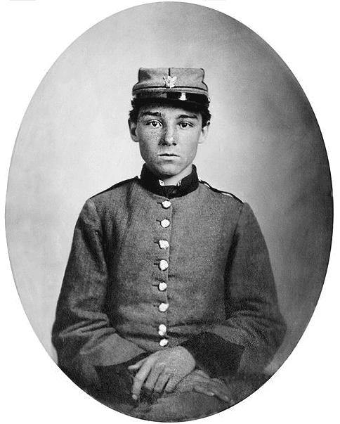 Photo: Confederate Pvt. Edwin Francis Jemison, 2nd Louisiana Infantry Regiment