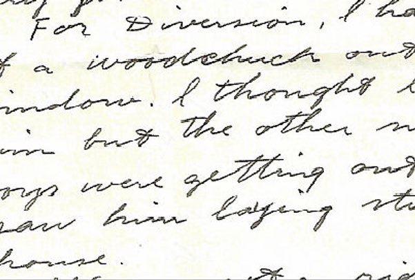 old family letter