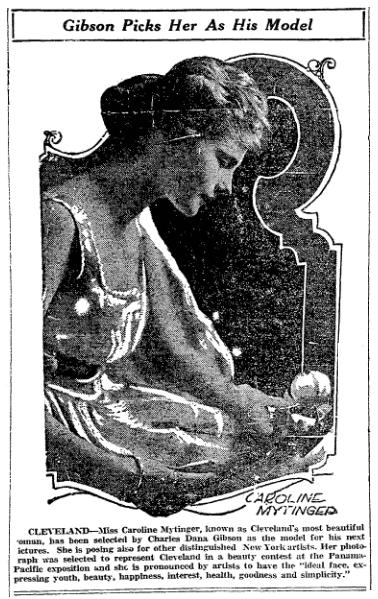 article about Caroline Mytinger, Morning Star newspaper article 13 April 1920