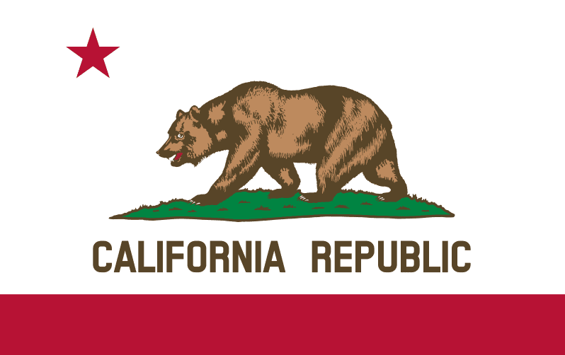 Illustration: California state flag