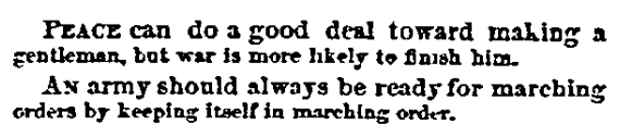 an article about jokes, New York Ledger newspaper article 14 June 1862
