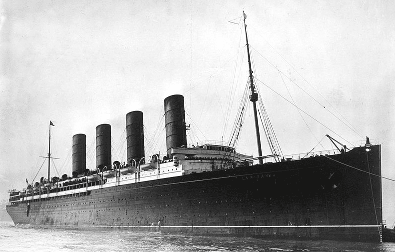 Photo: RMS Lusitania