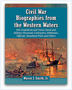 """Photo: cover of the book """"Civil War Biographies from the Western Waters"""""""
