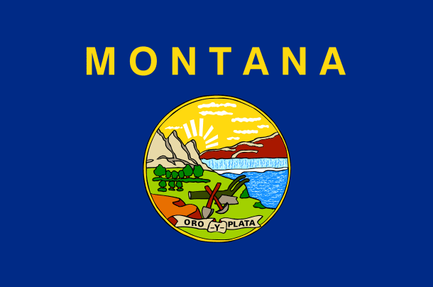 Illustration: Montana state flag
