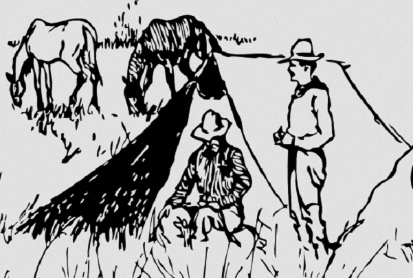 Illustration: cowboys