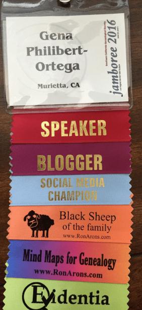 Photo: Jamboree 2016 name tag/credentials