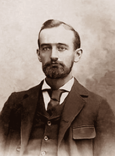 Photo: Friedrich Trump, who anglicized his name to Frederick Trump in 1892; father of real estate businessman Fred Trump, paternal grandfather of Donald Trump