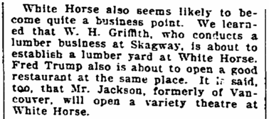 An article about Alaska, Seattle Daily Times newspaper article 4 August 1900