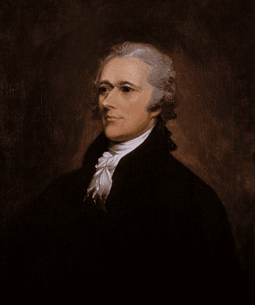 Portrait: Alexander Hamilton, by John Trumbull, 1806