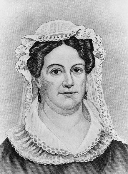Portrait: Rachel Jackson, by John Chester Buttre