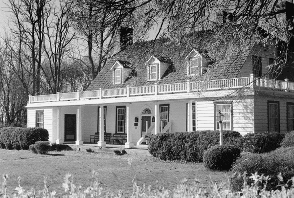 Photo: Rippon Lodge in Prince William County, Virginia. Credit: Virginia Department of Historic Resources.