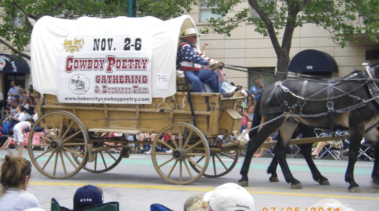 Photo: Pioneer Day parade, Salt Lake City, Utah, 2011