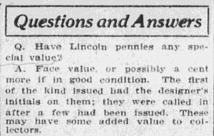 "A ""Questions and Answers"" column, Anaconda Standard newspaper article 26 February 1916"