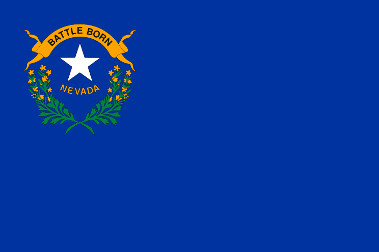 Illustration: Nevada state flag