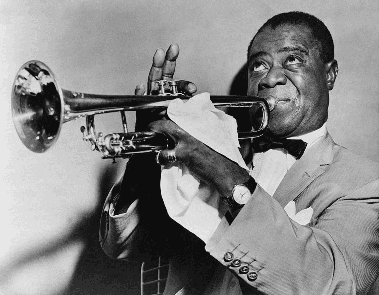 Photo: Louis Armstrong, 1953