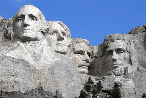 Photo: Mount Rushmore Monument, South Dakota. Credit: Dean Franklin; Wikimedia Commons.