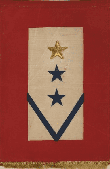 Photo: World War II-era service flag