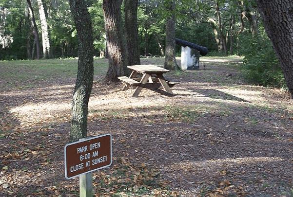 Photo: Yellow Bluff Fort State Park, Florida. Credit: Ebyabe; Wikimedia Commons.