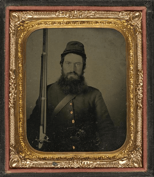 Photo: unidentified Union soldier
