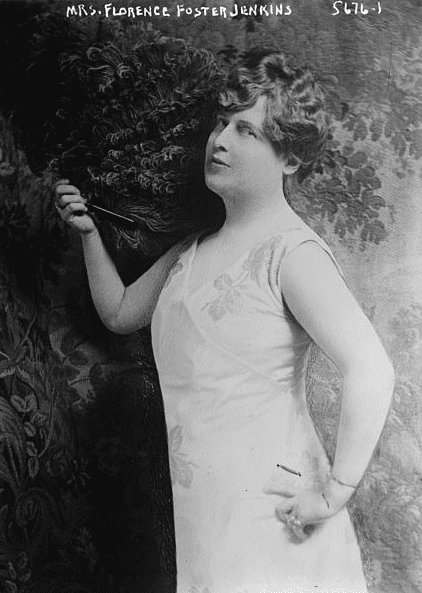 Photo: the real-life Florence Foster Jenkins