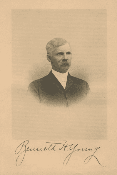 Photo: Bennett H. Young, the Confederate officer who led the St. Albans Raid