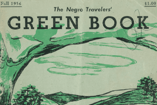 "Photo: cover of the 1956 edition of ""The Green Book."" Credit: from The New York Public Library."