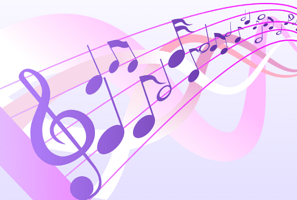 Illustration: musical notes