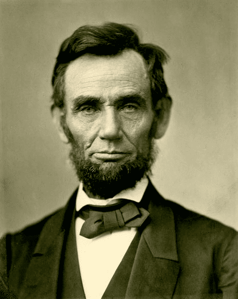 Photo: Abraham Lincoln