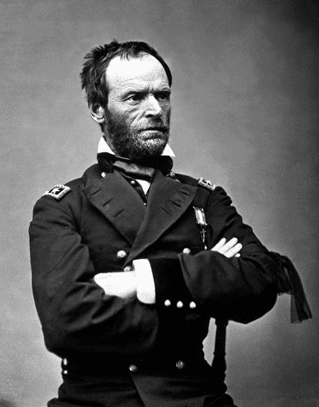 Photo: William Tecumseh Sherman
