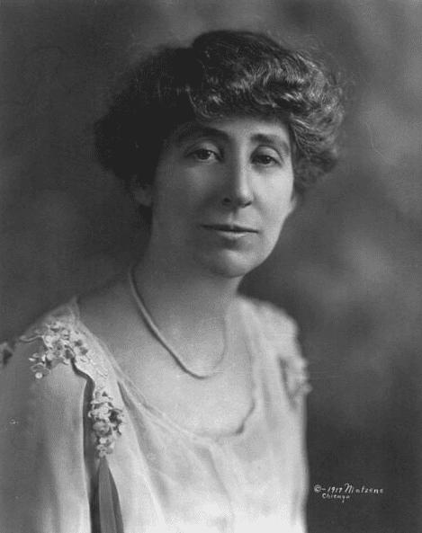 Photo: Jeannette Rankin, 1917