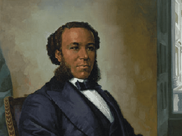 Illustration: Rep. Joseph Hayne Rainey. Credit: Simmie Knox; Office of the Clerk, U.S. House of Representatives.