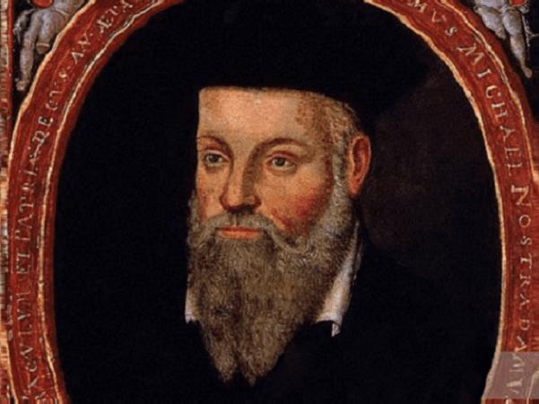 Illustration: portrait of Michel de Nostredame (Nostradamus), painted by his son César de Nostredame, c. 1614. Credit: Jean Boyer; Wikimedia Commons.