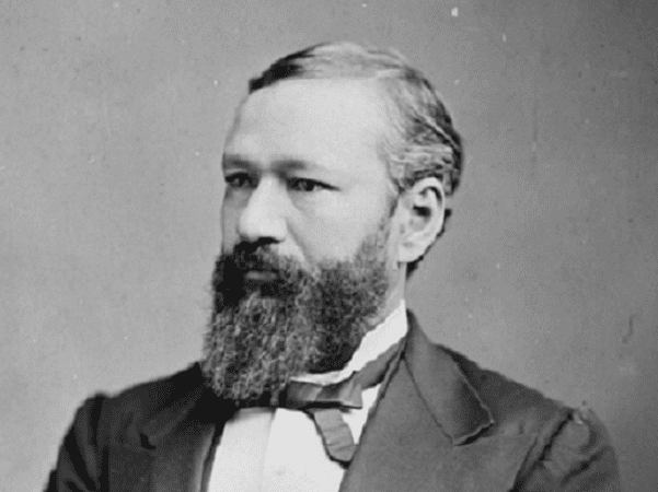 Photo: Pinckney Benton Stewart Pinchback, c. 1875. Credit: Mathew Brady & Levin Corbin Handy; U.S. Library of Congress, Prints and Photographs Division.