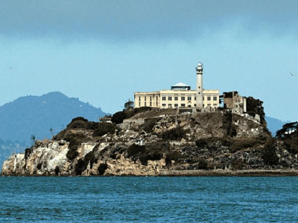 Photo: Alcatraz Island, San Francisco Bay, California. Credit: D Ramey Logan; Wikimedia Commons.