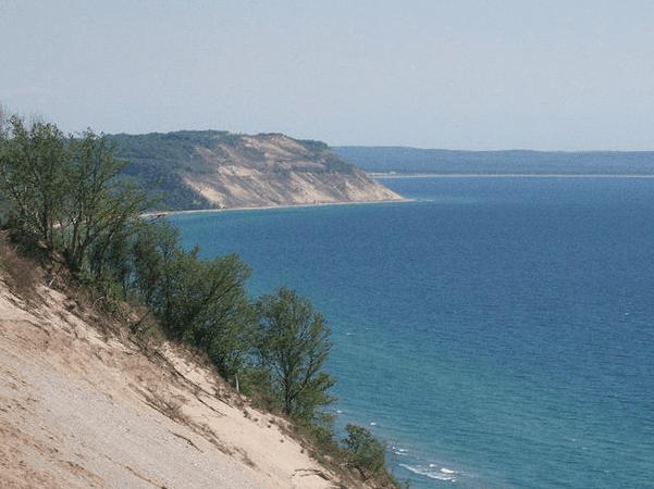 Photo: Good Harbor Bay, Sleeping Bear Dunes, Michigan. Credit: Grod028; Wikimedia Commons.