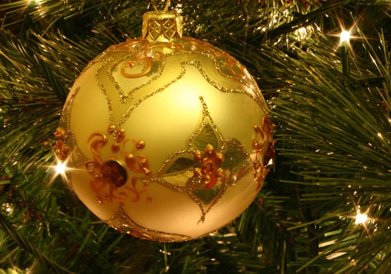 Photo: Christmas tree ornament
