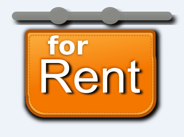 "Illustration: a ""for rent"" sign"