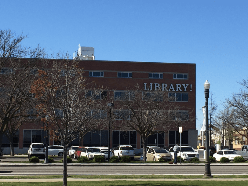 Photo: library in Boise, Idaho