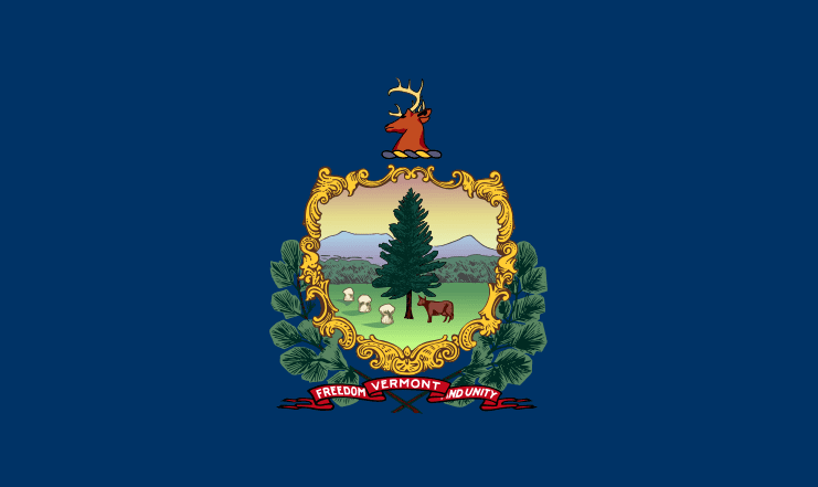 Illustration: Vermont state flag