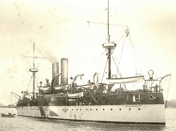 Photo: USS Maine in Havana Harbor, Cuba, shortly before the explosion on 15 February 1898. Credit: Wikimedia Commons.