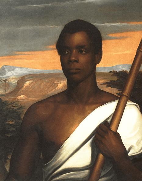 Portrait: Sengbe Pieh (Joseph Cinqué), by Nathaniel Jocelyn, 1840