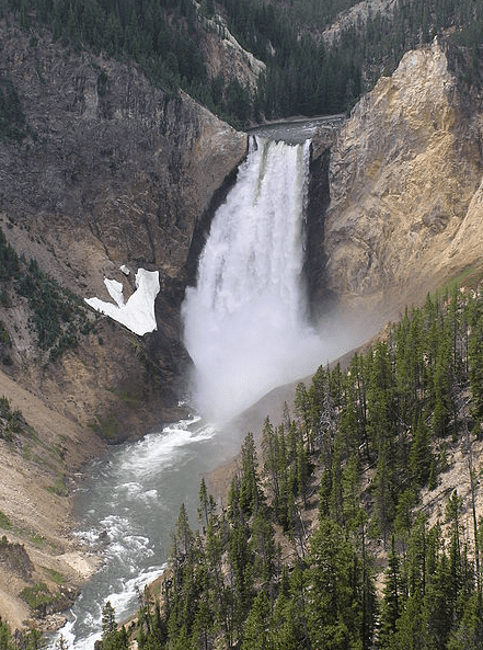 Photo: Lower Yellowstone Falls, Yellowstone National Park, Wyoming